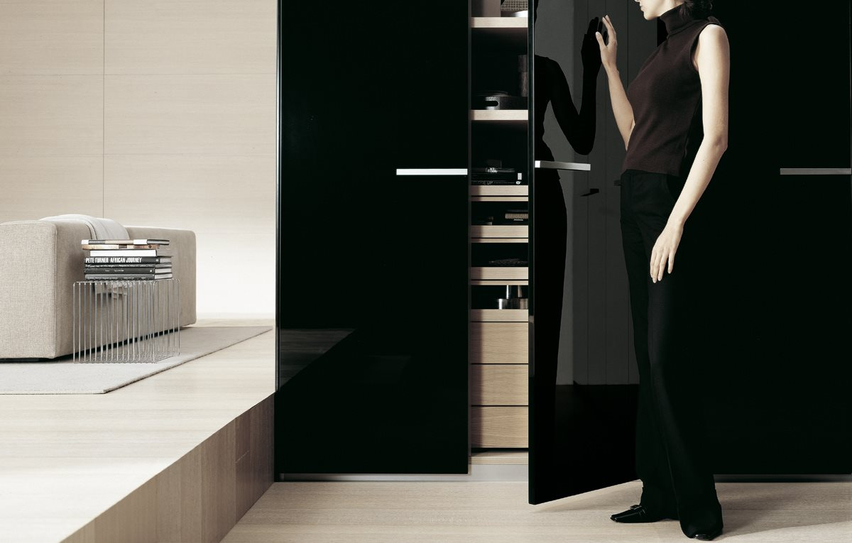 Armadio poliform new entry magnolo mobili arredamento - Camere da letto poliform ...