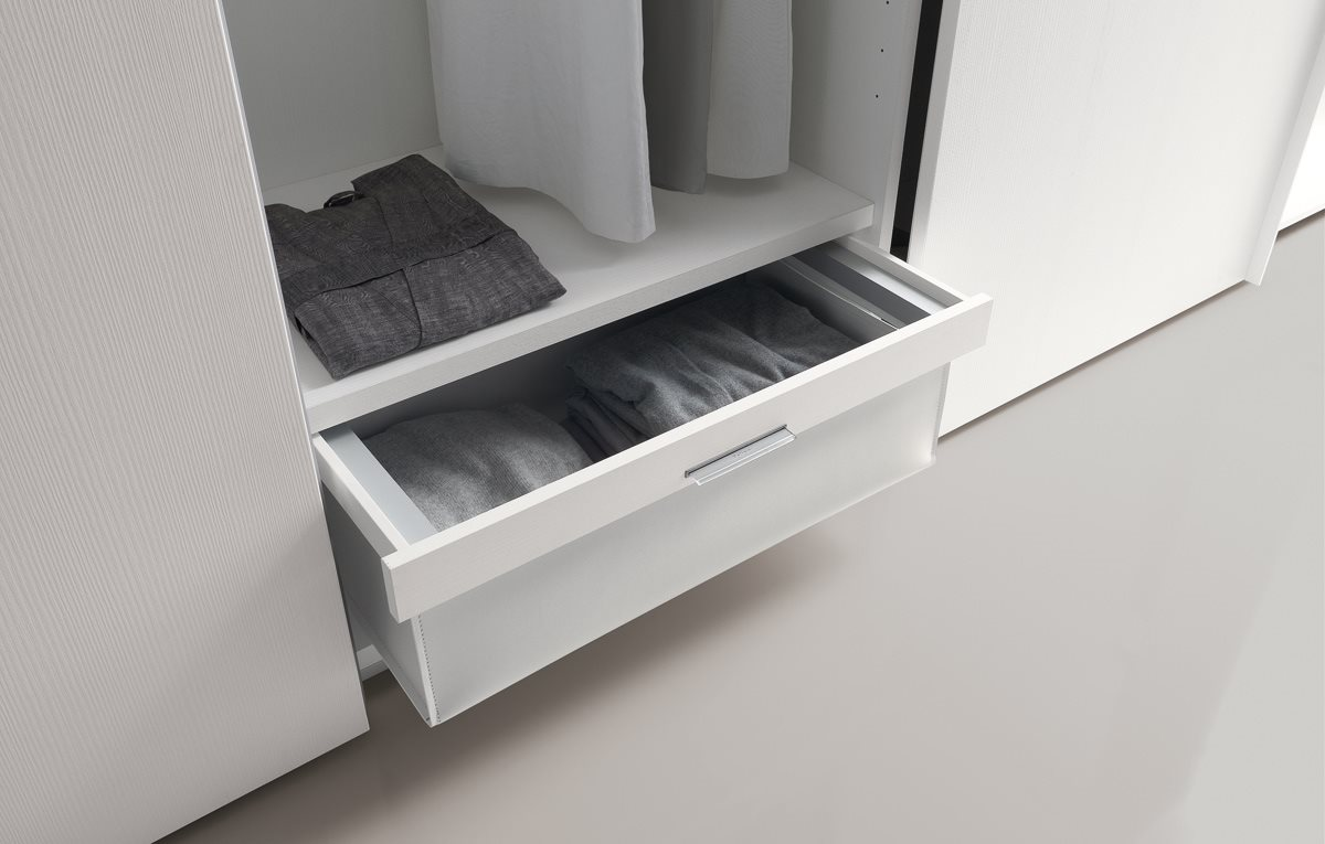 Armadio poliform sand magnolo mobili arredamento cucine for Camere da letto poliform