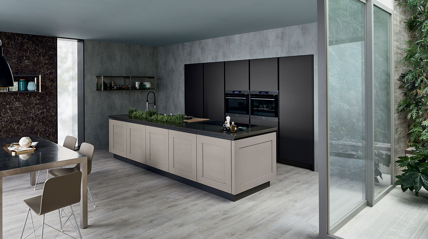 Cucina veneta cucine dialogo shellsystem magnolo mobili arredamento cucine camere da letto - Cucina scacco semeraro ...
