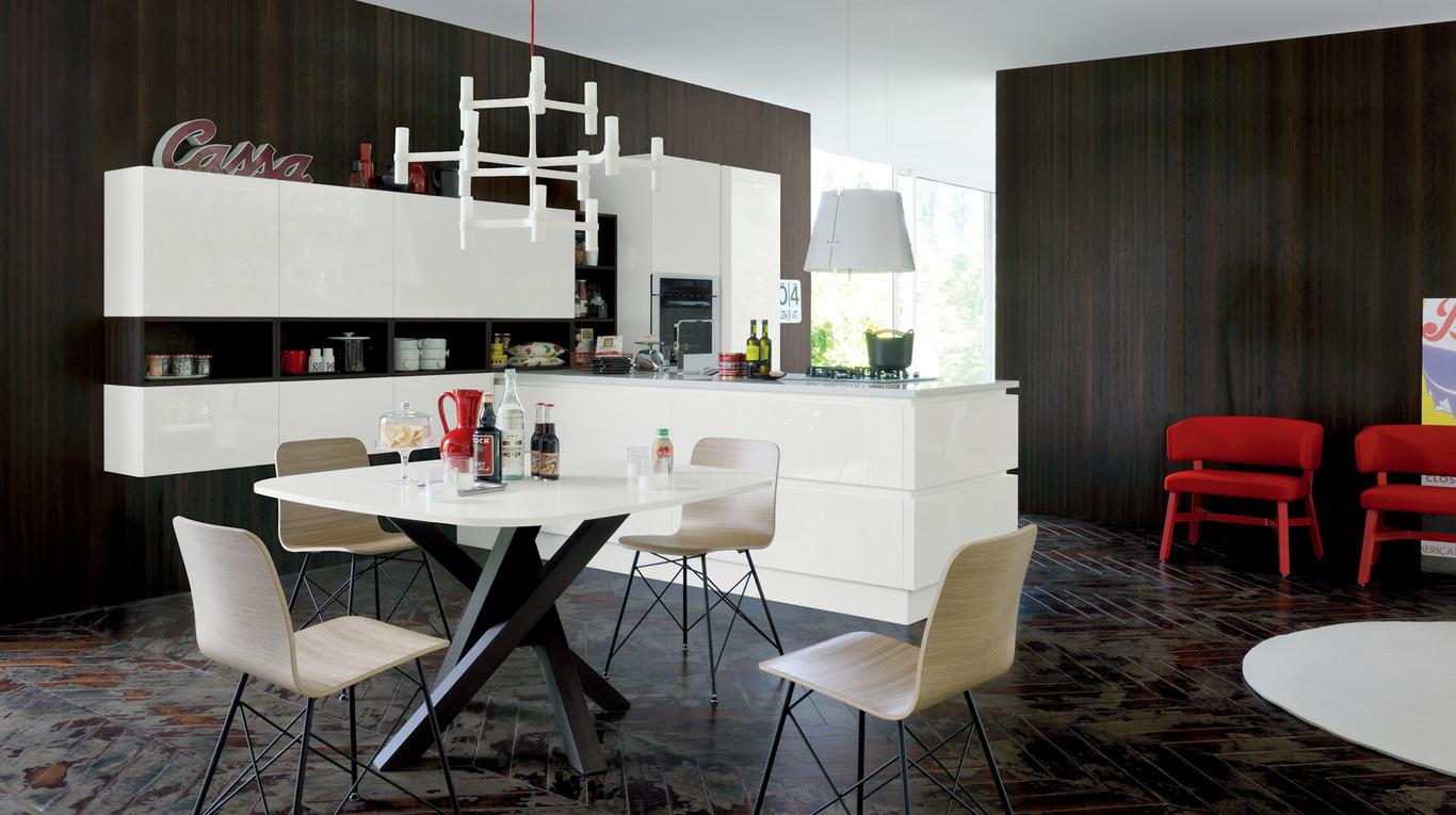 Veneta Cucine Misure Moduli.Cucina Veneta Cucine Oyster Pro Shellsystem Magnolo Mobili
