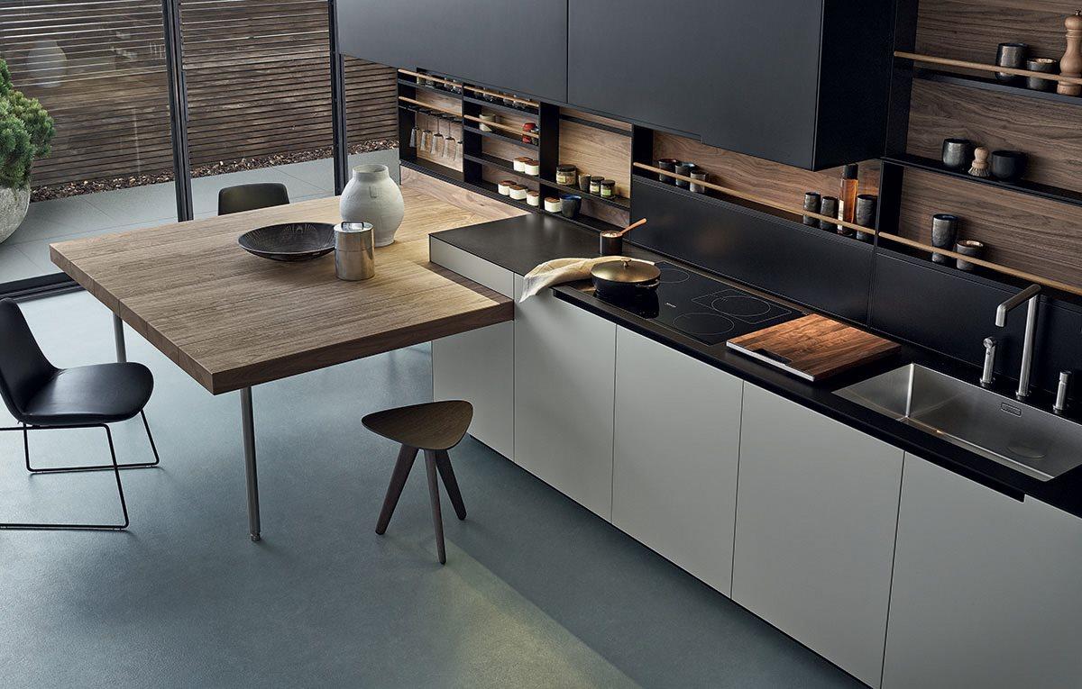 Cucina varenna phoenix magnolo mobili arredamento - Cucine d acciaio ...