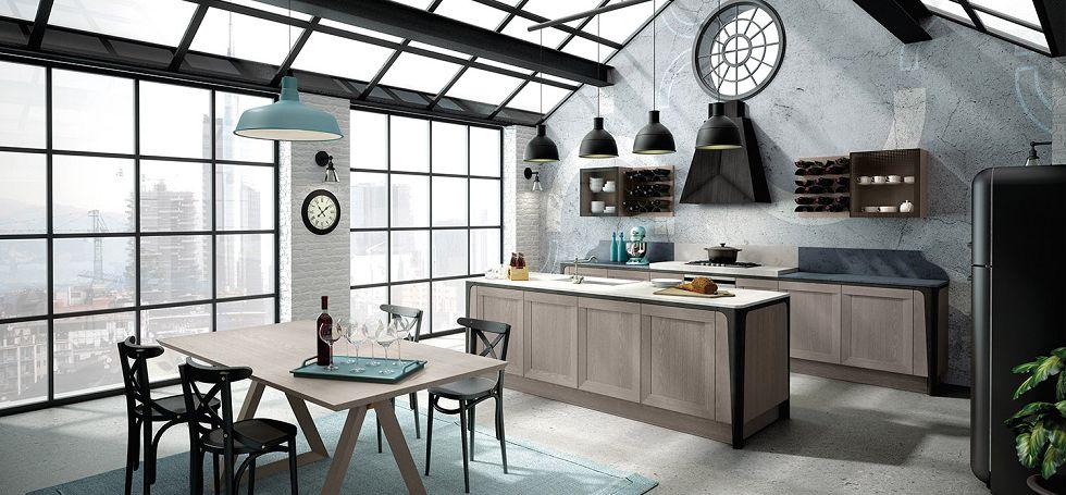 Cucina berloni milano magnolo mobili arredamento cucine - Cucine country milano ...