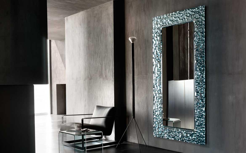 Specchio venus fiam magnolo mobili arredamento cucine camere da letto sogliano cavour lecce - Woonkamer spiegel ...