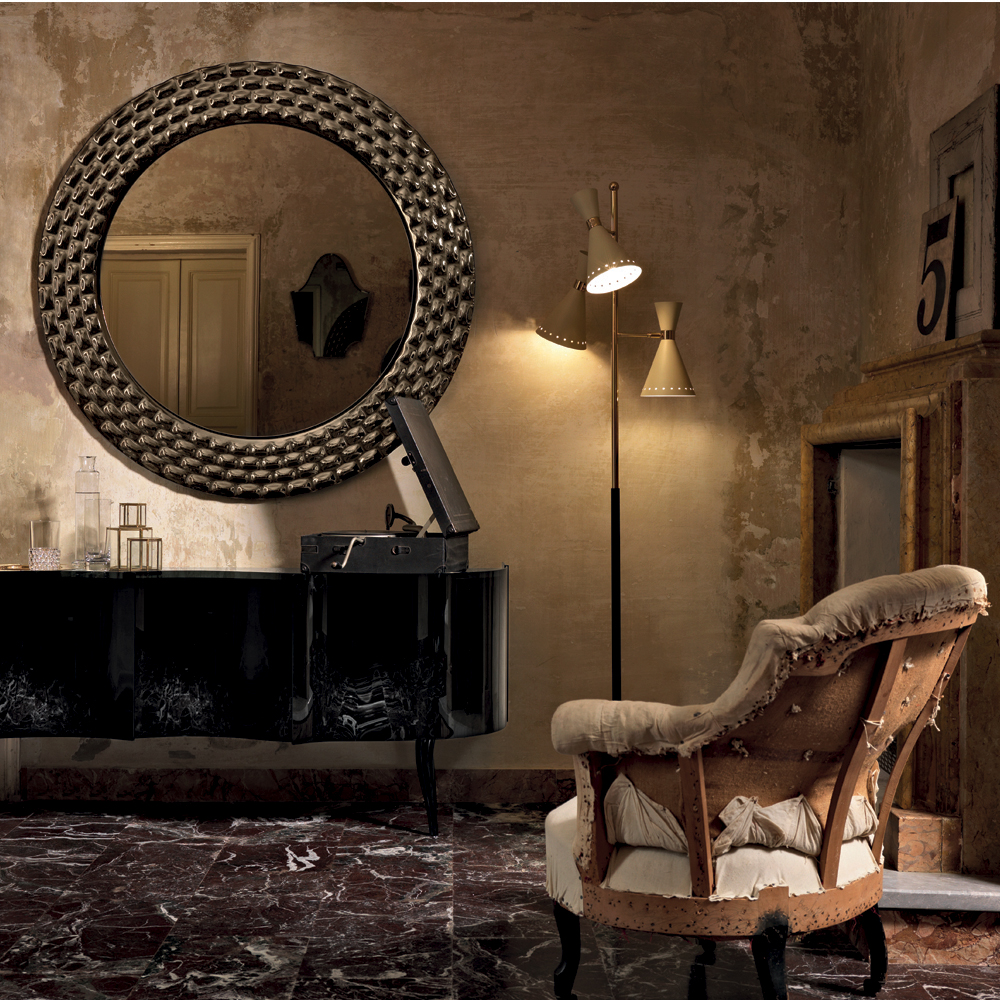 Specchio Pasha Veblen - Magnolo Mobili arredamento, cucine, camere ...