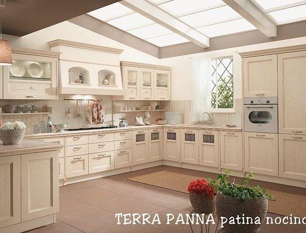 Cucina Classica Terra - Magnolo Mobili arredamento, cucine, camere ...