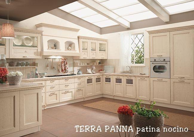 Cucina classica terra magnolo mobili arredamento cucine - Cucine sospese da terra ...